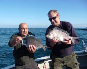 wreck fishing Poole, Dorset